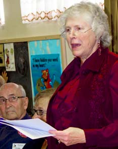 Rev. Dr. Fran Hare was featured speaker at the Strathcona Ecumenical Mission.