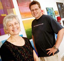Lucille and Nigel Bart run Artbeat in downtown Winnipeg