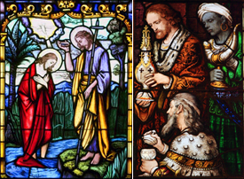 The feasts of the Baptism of the Lord (Jan. 9) and the Epiphany (Jan. 2) are essential parts of the Catholic celebration of Christmas.