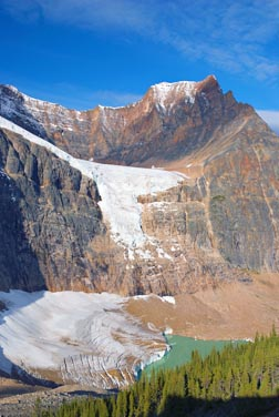 Canada's glaciers are disappearing as global warming wrecks havoc with creation.