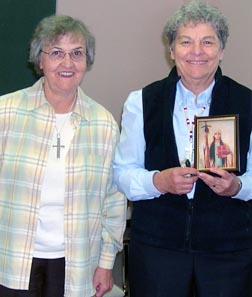 Srs. Jeannette Berger and  Bernadette Gautreau will retire in August after more than 50 years of missionary work in Northwestern Alberta.