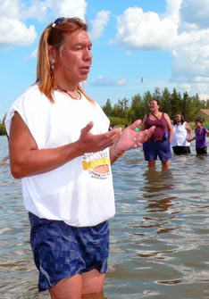 The Lac Ste. Anne Pilgrimage in July is one of the summer highlights of life in the Edmonton Archdiocese.