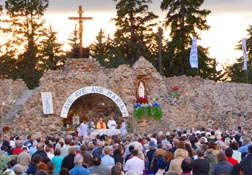 For 93 years, the grotto of Our Lady of Lourdes at the Skaro Shrine has been drawing Catholics to celebrate the feast of Mary's Assumption on Aug. 14-15.