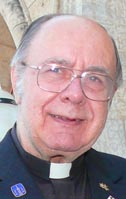 Fr. John Nowakowski lived at St. Joseph's Basilica after serving as chaplain at edmonton Auxiliary Hospital.