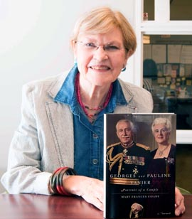 Mary Frances Coady is author of Georges and Pauline Vanier: Portrait of a Couple.