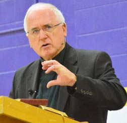 Archbishop Terrence Prendergast told the ScriptureFest 2011 audience that 'All the baptized are called to make Jesus known.'