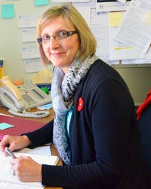 Teresa Kellendonk is assistant director of pastoral care for the Edmonton Archdiocese.