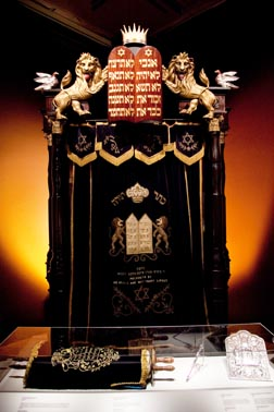 The Torah Ark, originally from a Glace Bay, N.S., synagogue, once served 2,000 worshipers.