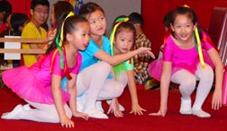 Salesian Chinese School performers portray a traditional dance