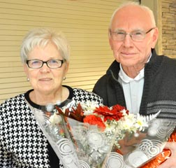 Elsie and Andy Johnson have been married for 53 years.