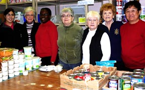 Local Sisters of Providence work at the Anawim Place food bank alongside lay people, part of the new approach of many religious orders.