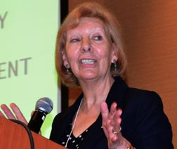 Ethicist Dr. Moira McQueen told CWL delegates abortion and euthanasia are intrinsically evil.