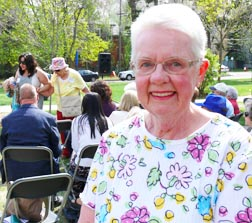 Lorraine Brooks worked with Msgr. Bill Irwin for more than 20 years.