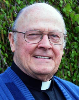 Msgr. Jack Hamilton has been pastor in Sherwood Park for 12 years.