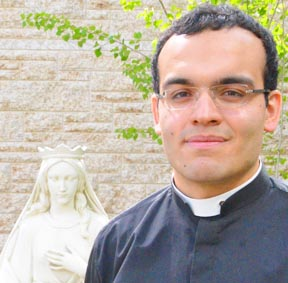 Deacon Miguel Irizar will be ordained to the priesthood July 2 at St. Joseph's Basilica.