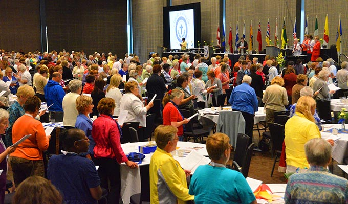 About 900 women from across Canada participated in the annual Catholic Women's League convention in Edmonton Aug. 12-15.
