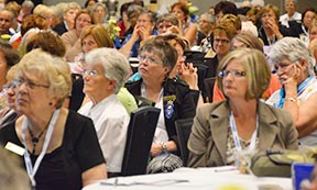More than 900 women attended the national Catholic Women's League convention.
