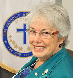 Betty Ann Brown Davidson has chosen a spiritual focus for her term as CWL president.