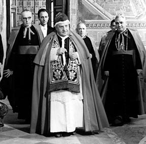 Pope John XXIII's enthusiasm for the council was not shared by many others in Rome.