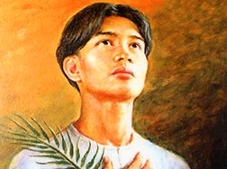 Pedro Calungsod was slain when he tried to bring Christianity to the natives of Guam