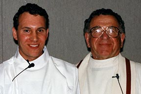 During his pastoral internship and his first year as a priest, Fr. Greg Bittman had a mentor in Fr. Karl Raab. Raab died in 2004.