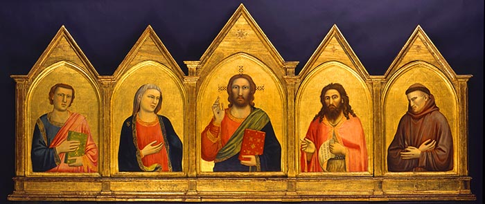 The Peruzzi Altarpiece by Giotto di Bondoni will be one of 90 key pieces of Florentine religious art from the early 14th century on display at the Art Gallery of Ontario next spring.