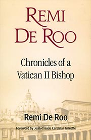 Cover of Chronicles of a Vatican II Bishop by Remi De Roo