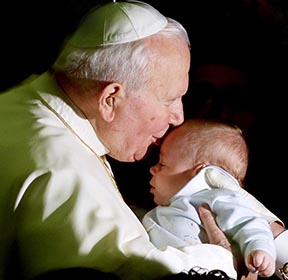 Pope John Paul offered a better understanding of life and family than that most widely available in Western society.