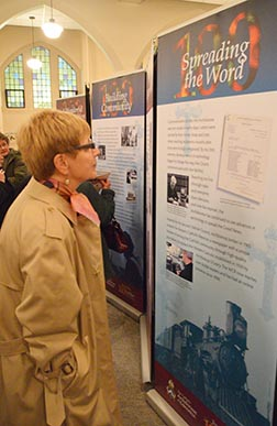 A display to be erected in Edmonton City Hall highlights aspects of the Archdiocese`s history.