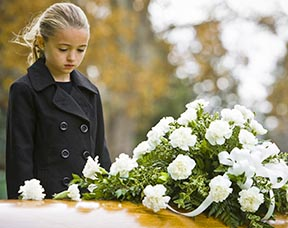 Children can become very confused when a loved one dies and their own need to grieve needs to be respected.