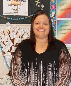 Kristin Brown develops a Catholic environment in her Grade 4 classroom in Spruce Grove.