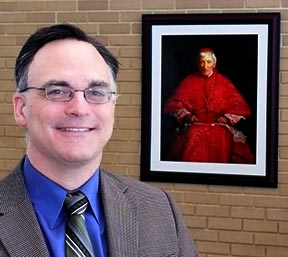 Dr. Jason West, philosophy professor and academic dean of Newman Theological College, now takes on the presidency of the college named after Blessed John Henry Newman.