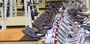 A fully equipped weight room at Mother Margaret Mary High School gives the students abundant opportunities to be in good physical shape.