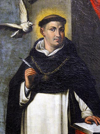 St. Thomas Aquinas maintained the universe has an objective and understandable order.