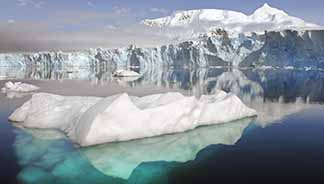 Climate change is causing glaciers to melt at an unprecedented rate.