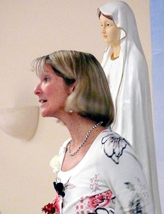Author Katrina Zeno told an Edmonton audience their bodies will be perfected in heaven.