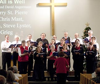 Barrhead United Church and St. Anne's Catholic Church combined voices to produce their second annual cantata.