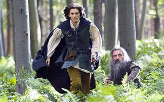 Ben Barnes and Warwick Davis star in a scene from the 2008 release, The Chronicles of Narnia: Prince Caspian.