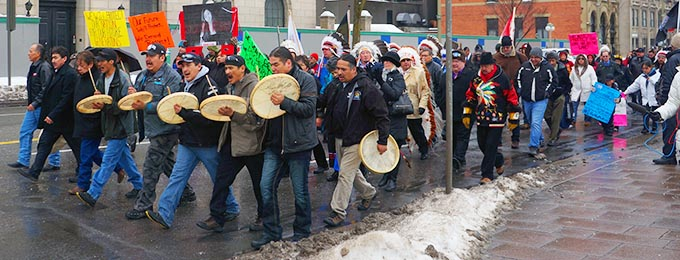 While aboriginal protesters take to the streets, MP Rob Clarke is presenting a bill in the House of Commons to eliminate provisions of the Indian Act that foster dependency.
