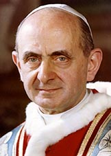 Pope Paul VI intervened several times before approving decisions of Vatican II.