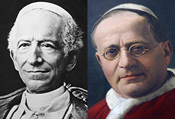 The social encyclicals of Popes Leo XIII and Pius XI gave rise to the Young Christian Workers.