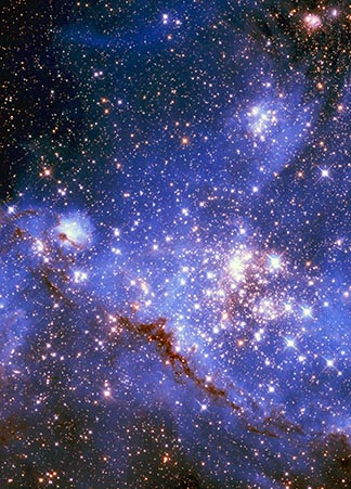 Look to the heavens and count the stars. . . . So shall your descendants be. - Genesis 15.5