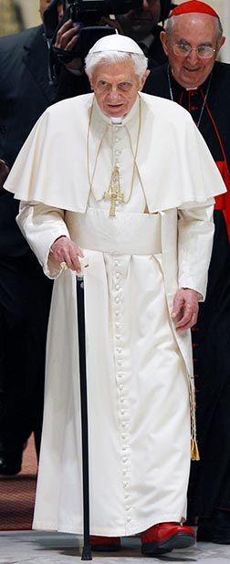 Pope Benedict's last encyclical will be unfinished when he retires.
