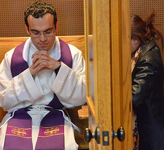 Fr. Miguel Irizar will be one of dozens of priests across the Edmonton Archdiocese who will hear confessions all day on Wednesday, March 6.
