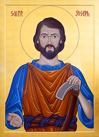 The icon of St. Joseph the Worker marking the centennial of the Edmonton Archdiocese will be blessed and unveiled on the saint's May 1 feast day.
