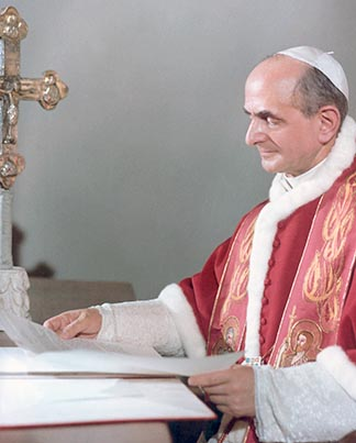 One of Pope Paul VI's first tasks as pope was to convince the Curia to support the council.