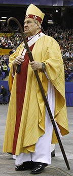 Cardinal Jean-Claude Turcotte says the new pope is a man of prayer.