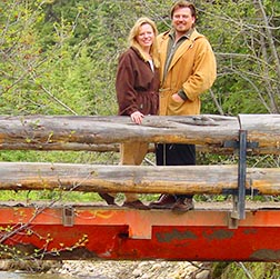 Mariette and Kristoph Franz Dobrowolski enhance Sanctum Retreat Centre with their theology and musical backgrounds.