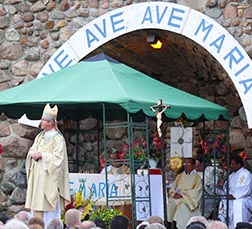 The Aug. 14 vigil Mass at the Skaro Shrine is one of the most beautiful liturgies of the year.