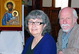 Carolyn and Ken Fast find St. Joseph's provides a spiritual centre to their lives.